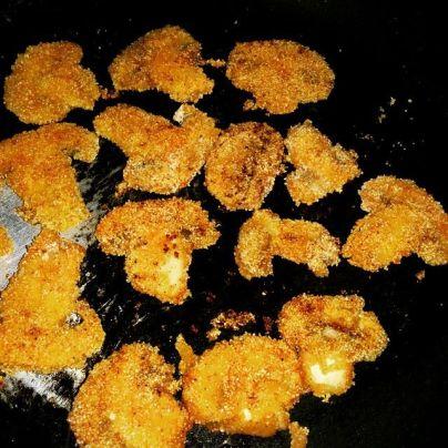 Mushroom rava fry