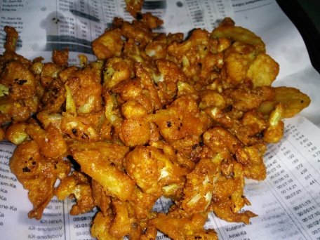 Cauli flower Baje(deep fried)