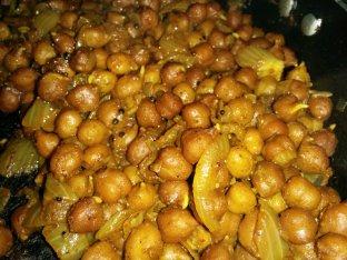 Chane ushli(masala)
